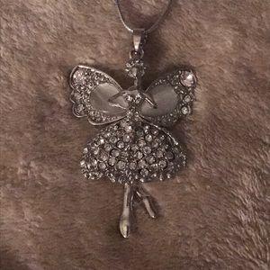 Angel fairy Betsy Johnson necklace